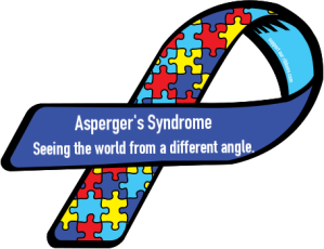 Asperger's Syndrom Ribbon