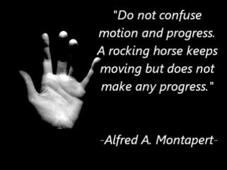 motion with progress