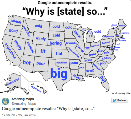 state stereotypes map